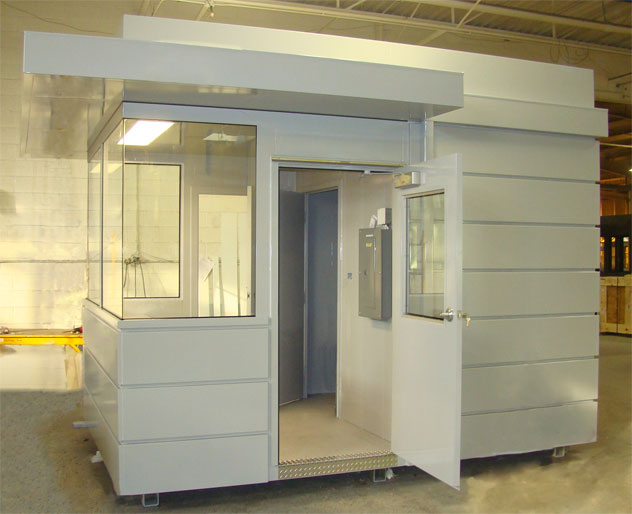 Guard Booth Design and Purchase considerations Portable Steel
