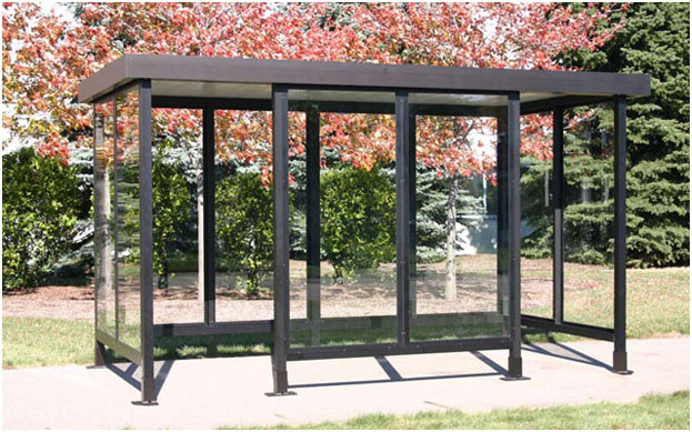 Aluminum Portable Shelters : Aluminum bus shelters or steel portable